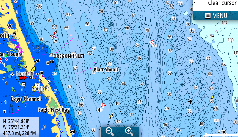 Jeppesen's C-Map Announces New Charts for Simrad's Evo 2