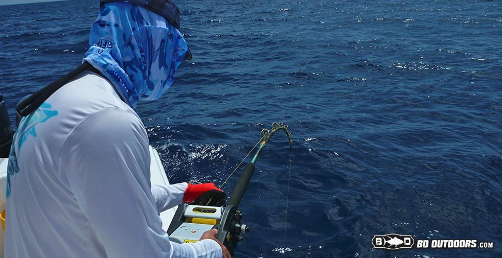 deep drop fishing