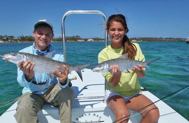 Heather Harkavy fly fishing