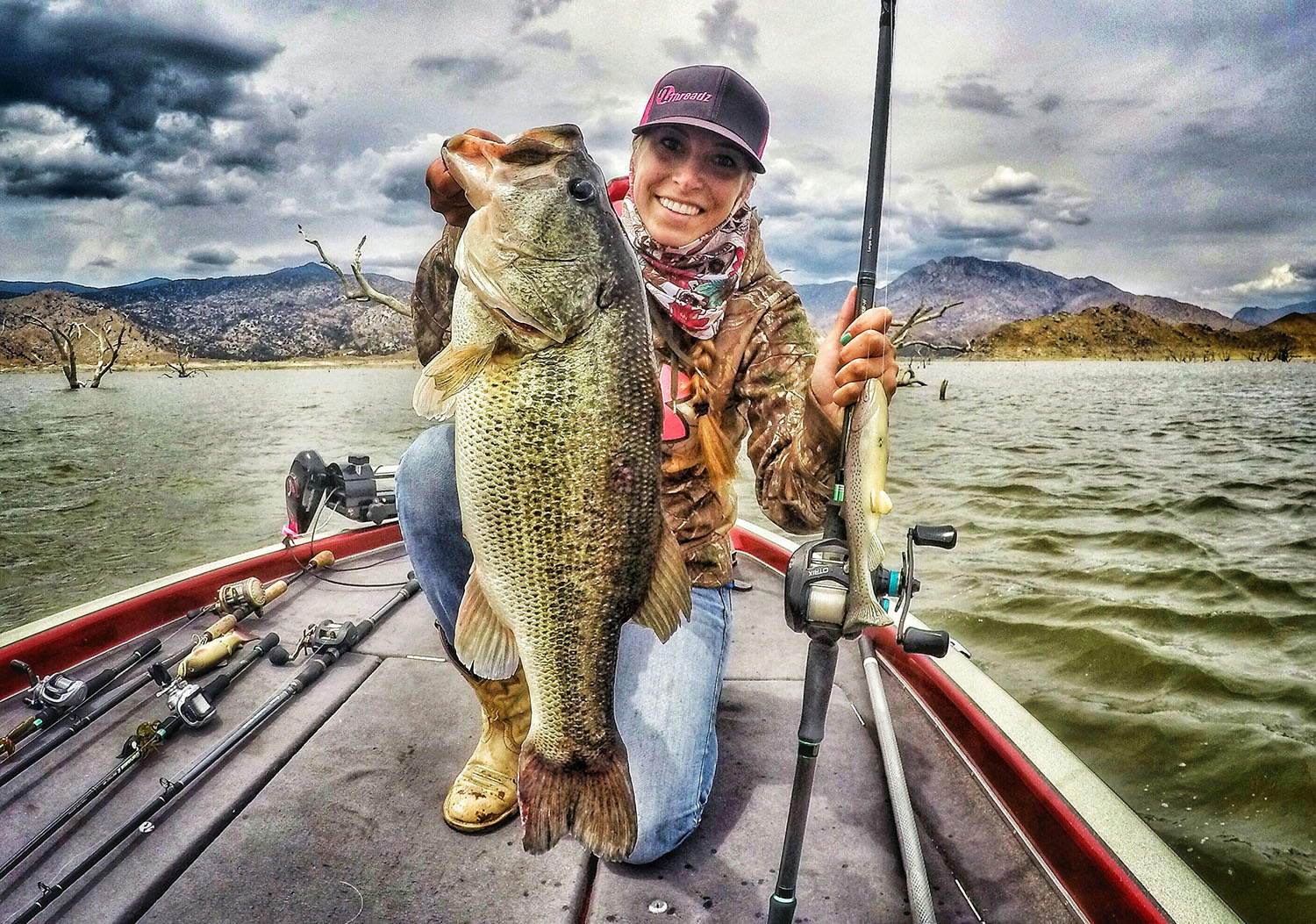 Kayla Nevius california bass