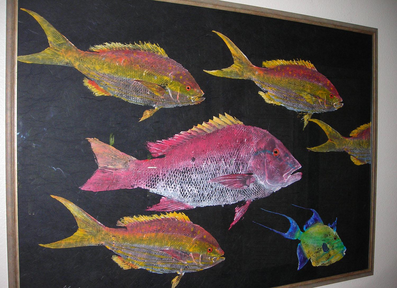 gyotaku rubbings