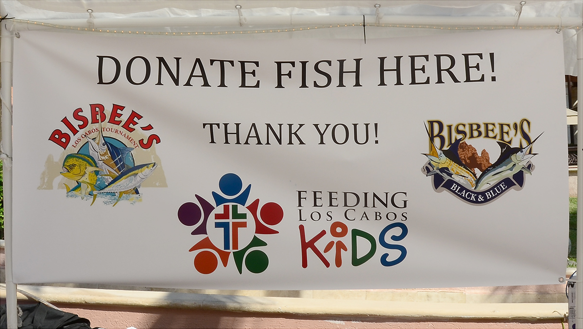 There was the Feeding Los Cabos Kids - Bisbee's Black & Blue Tournament