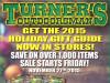 Turner's sale