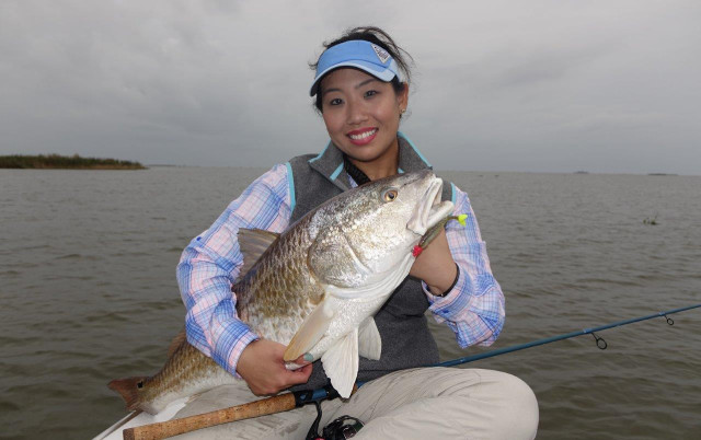 Cindy Nguyen fishing travel