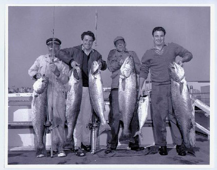 fishing history - memories santa monica