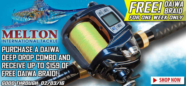Special Daiwa Deep Drop Sale