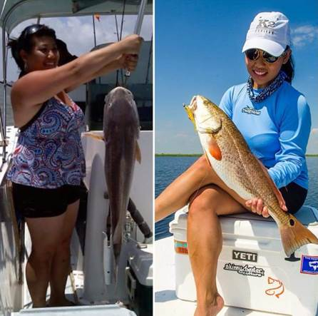 Cindy Nguyen fishing tips