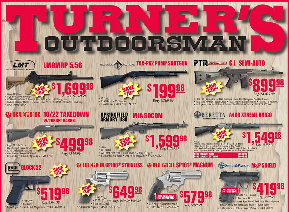 Turner S Outdoorsman Weekly Sale January 22 Bd Outdoors