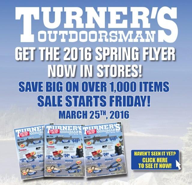 turner's outdoorsman - Turners Spring Flyer