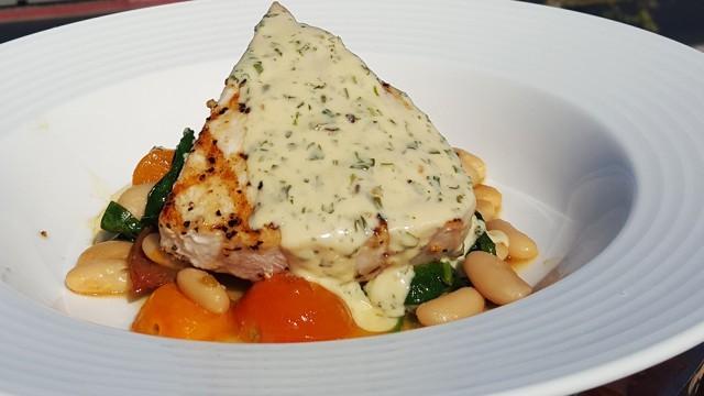 swordfish recipe - grilled swordfish salad