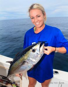 Chrissy Rice fishing tips