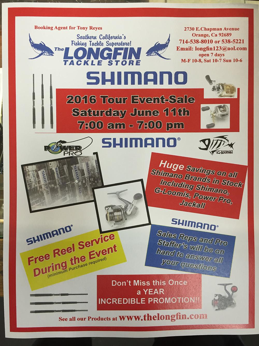 longfin shimano