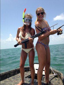 Katey McClenny spear gun