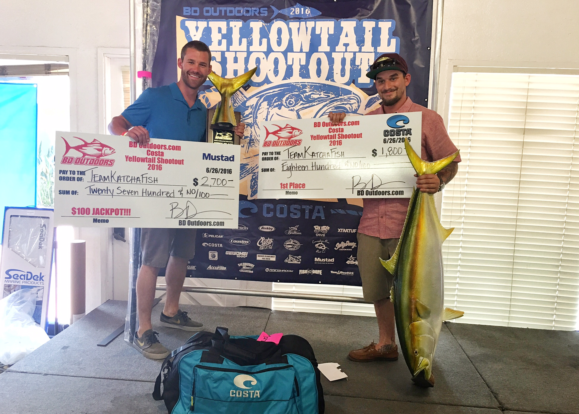 yellowtail shootout