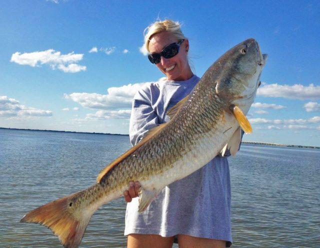 Cory Redwine flats fishing