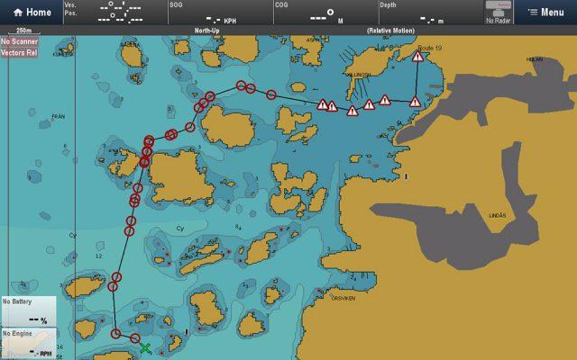 navionics autorouting - Lighthouse ii Release 17 Navionics