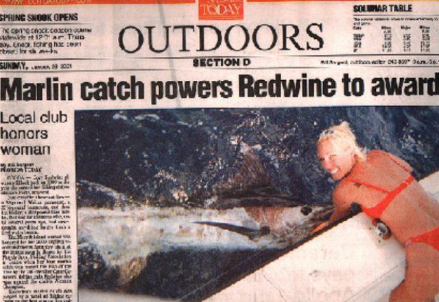 Cory Redwine blue marlin