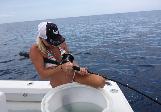 Cory Redwine deep sea fishing