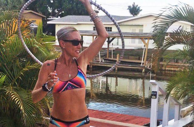 Cory Redwine hula hoop