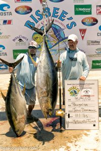 yellowfin fishing