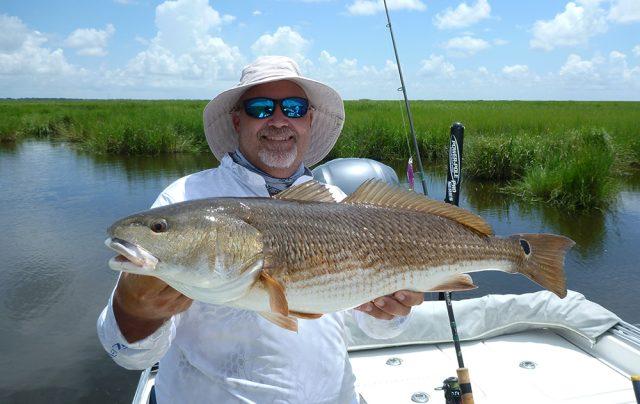 marsh fishing