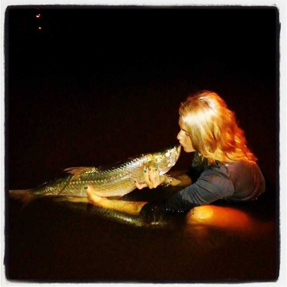Skye Burkhardt fishing stories
