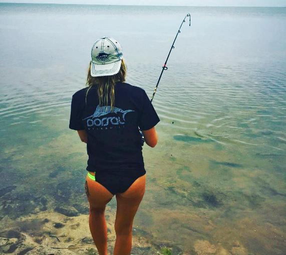 Skye Burkhardt ladies fishing