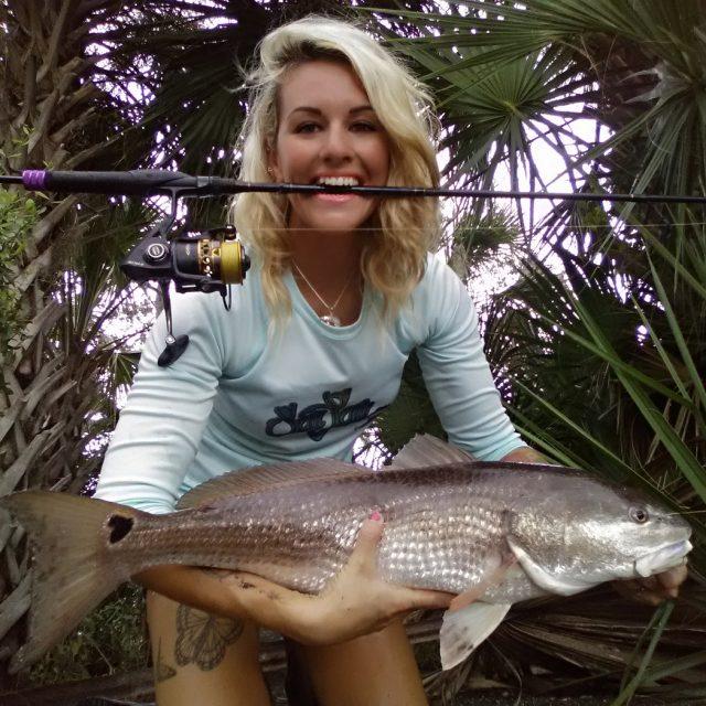 Skye Burkhardt redfish