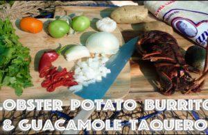 Lobster Potato Burrito