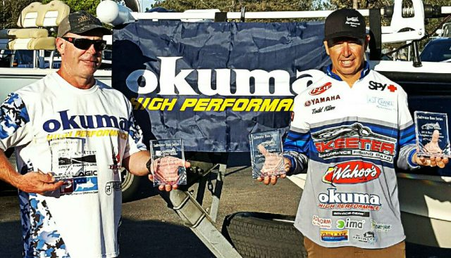 Okuma Pros Take SBS Anglers