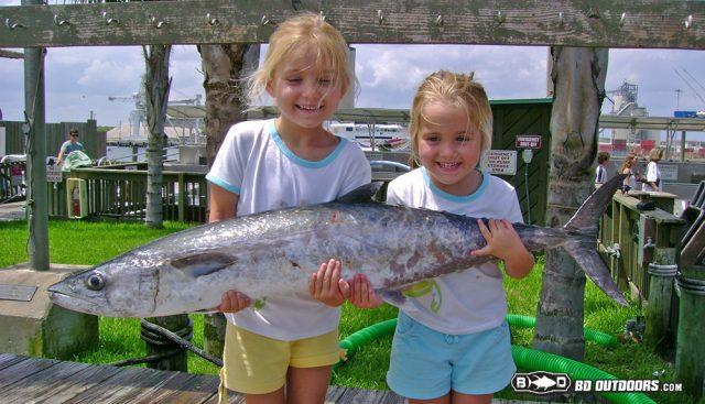 kids fishing - NOAAs SAFMC