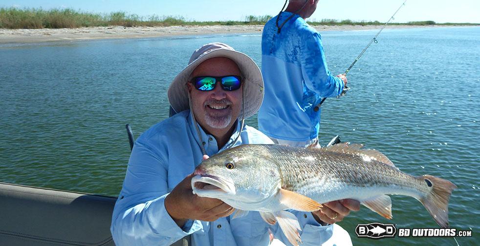redfish fishing