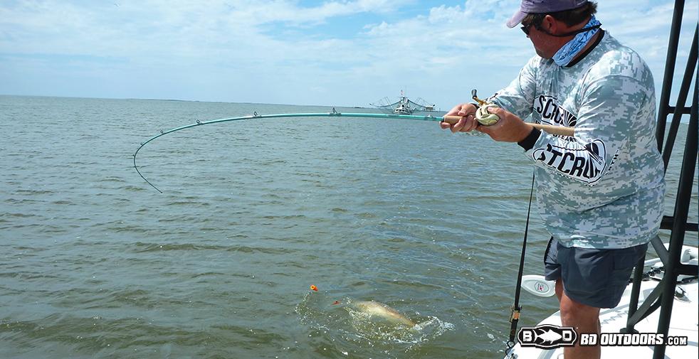 redfish-fight