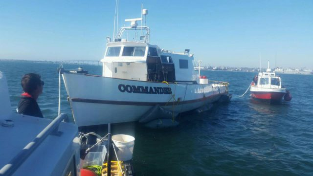 Boat services -  Towboat Us San Diego