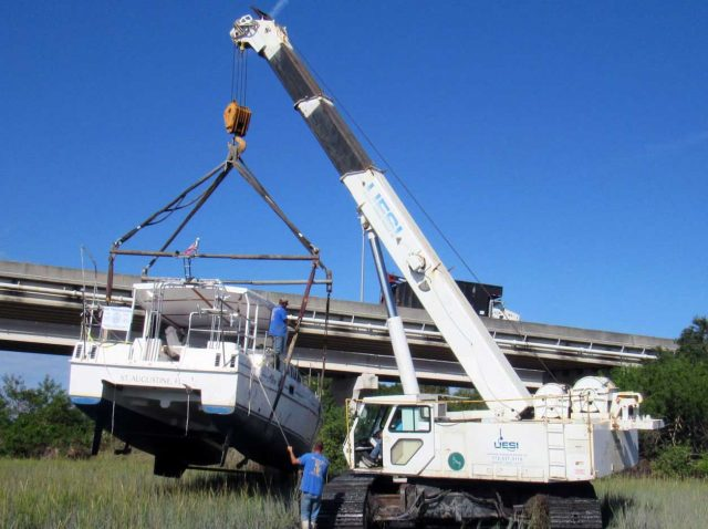 boatus cleanup - hurricane destroy  63,000 Recreational Boats