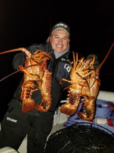 lobster while fishing