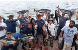 Sportfishing Tuna group