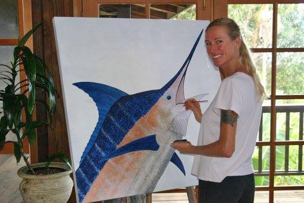 Carol Lynne marlin painting