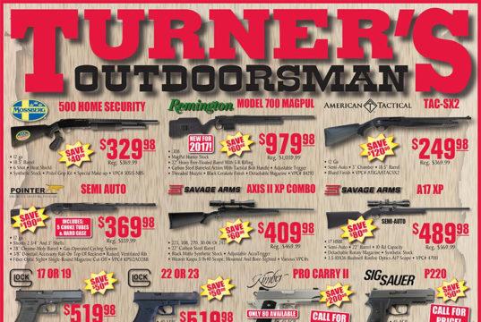 Turners outdoorsman