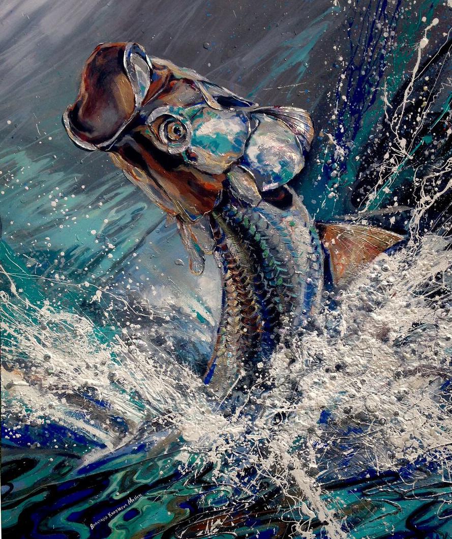 marine painting beautiful