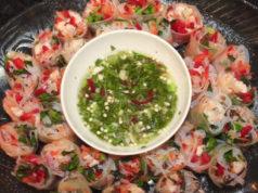 Vietnamese Lobster Spring Rolls seafood recipe