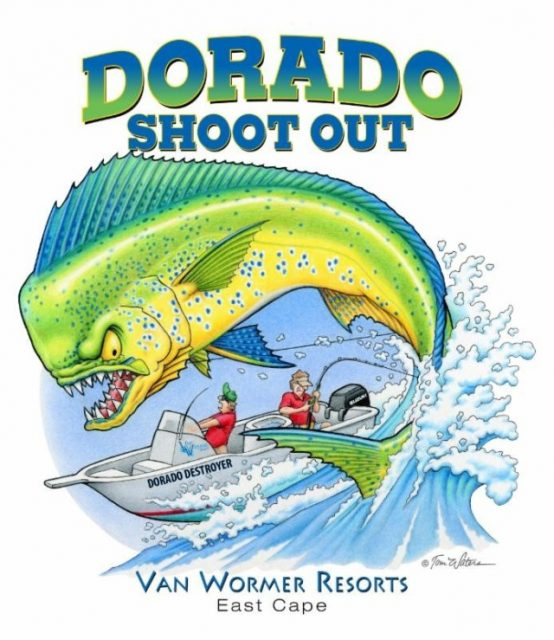 dorado shootout Van Wormer Resorts in Los Barriles-dorado shoot out