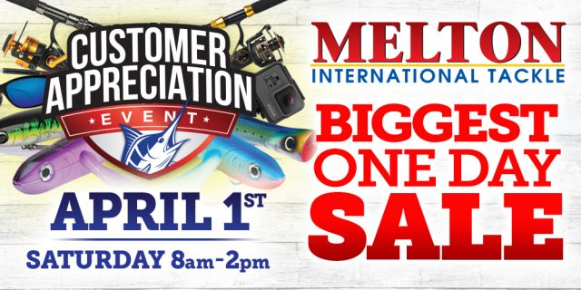 Melton International Tackle's - melton customer event