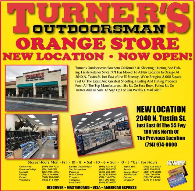 Turners Outdoorsmans Orange Store