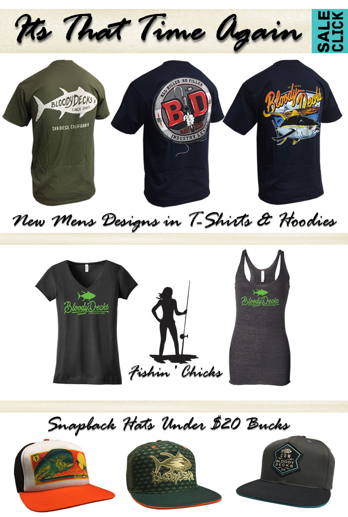 shirts hats for fishing - Bloodydecks Swag Sale