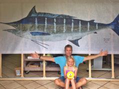maui printing blue fish