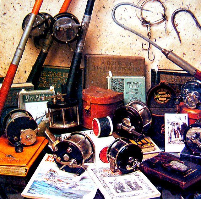 old reels  - Vintage Fishing Tackle