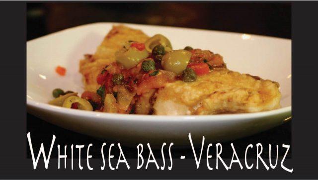 White Seabass Veracruz Recipe