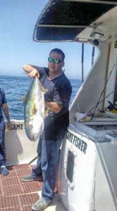 Gamefisher found yellowtail at the Banda Bank
