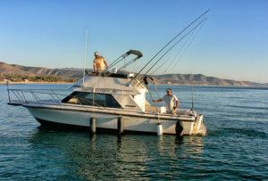 Jesus Araiza fishing boat